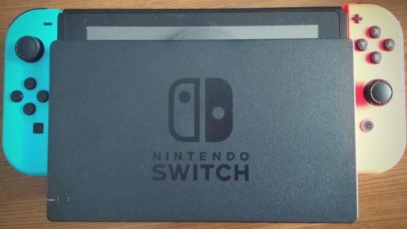 Nintendo Switch・ドック装着時